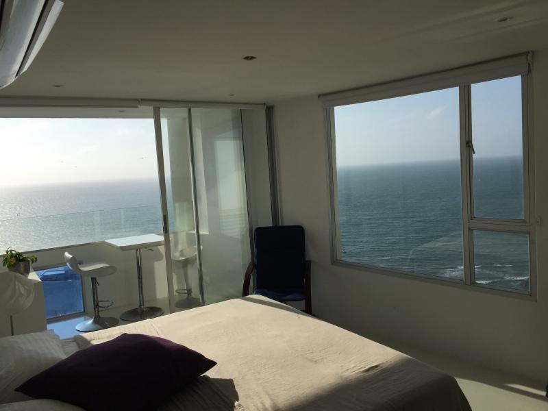 View form the master bedroom.