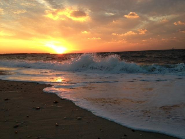 Short walk to Long Island Sound beach with magnificent sunsets.