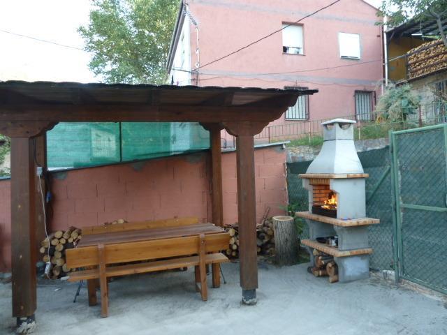 Porticato con barbecue