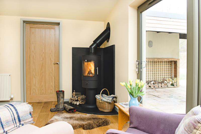 Log burner available for those chilly nights