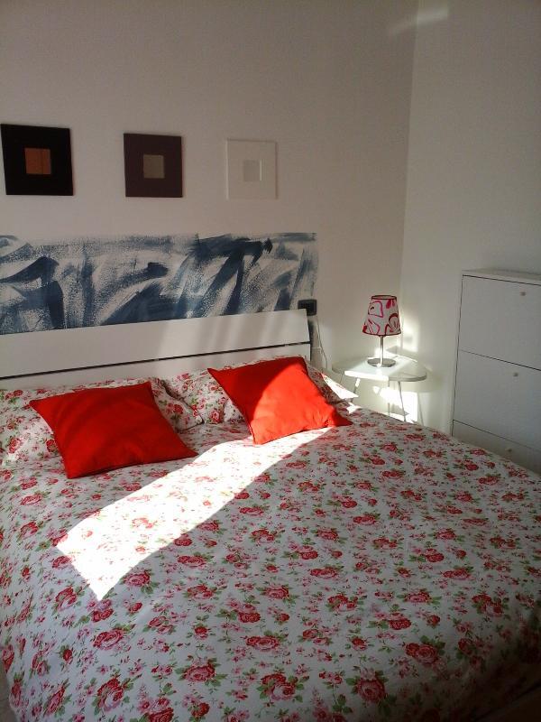 camera da letto con materasso in memory farm