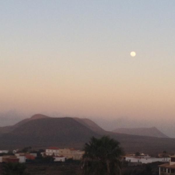 Villaverde, vista por las tardes al atartecer