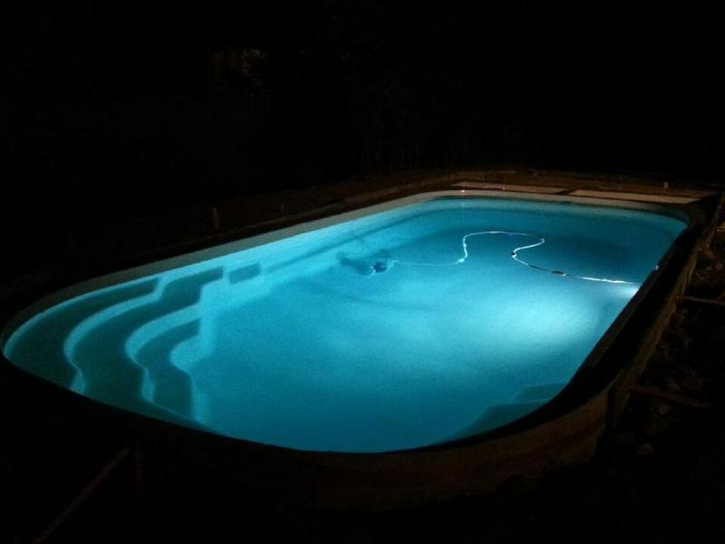 Unsere brandneue Pool!