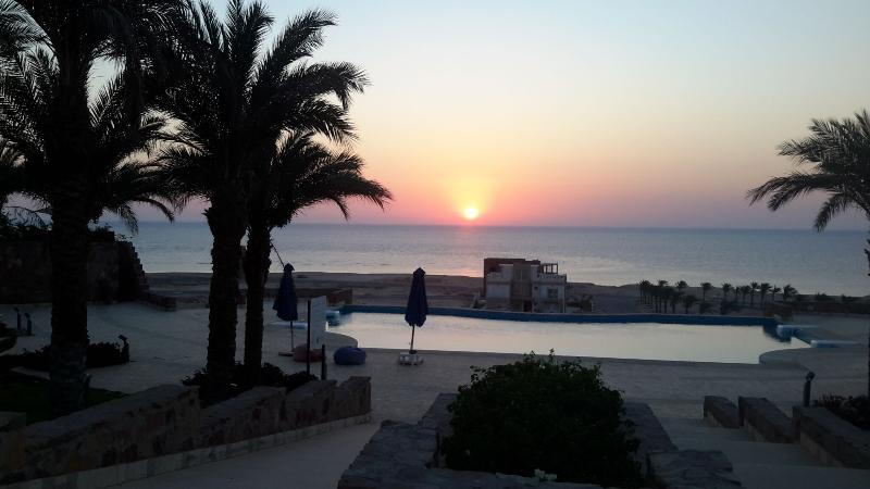sunrise over azzurra