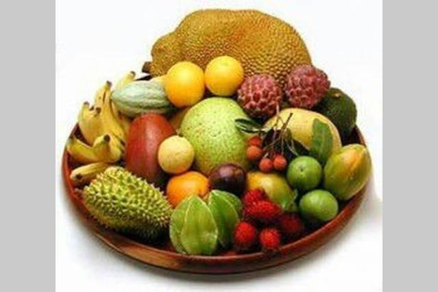 El Utuado área ofrece una variedad de frutas exóticas de caribeñas que se pueden encontrar por temporadas.