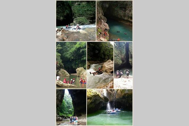 Local Tour: The River Cave Tubing & Hiking areas include, lush jungle hikes, river caves, sites.