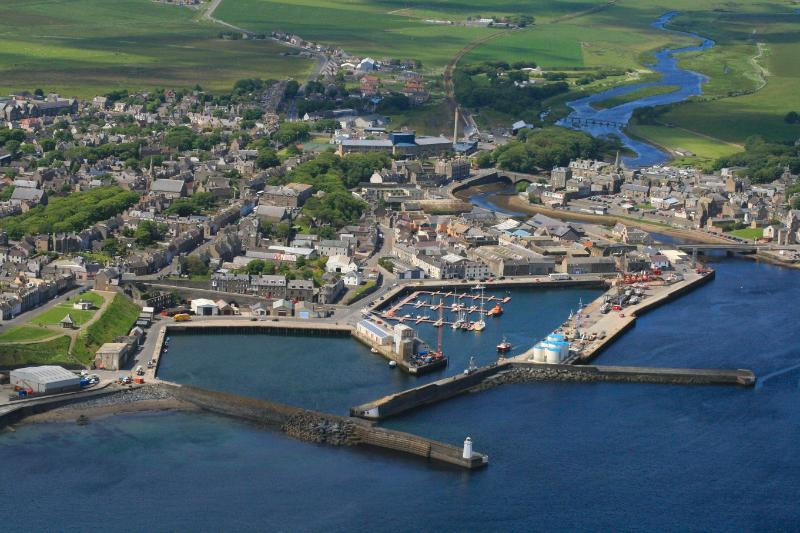 Nearby Wick Harbour