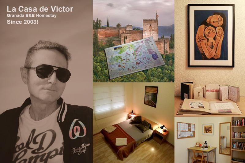 La Casa de Victor. B&B in Granada since 2003