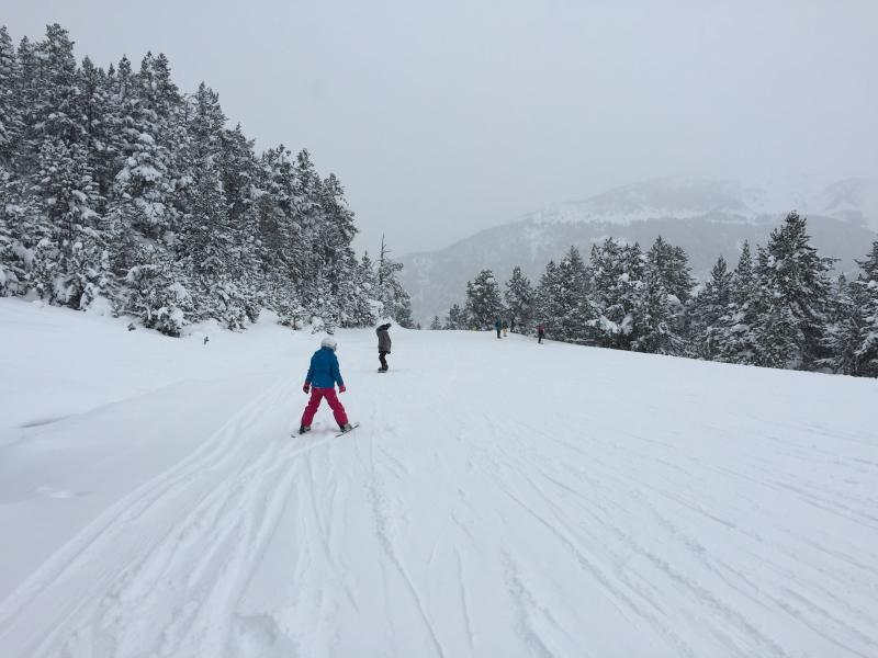 Skiing at Vallnord in Andorra