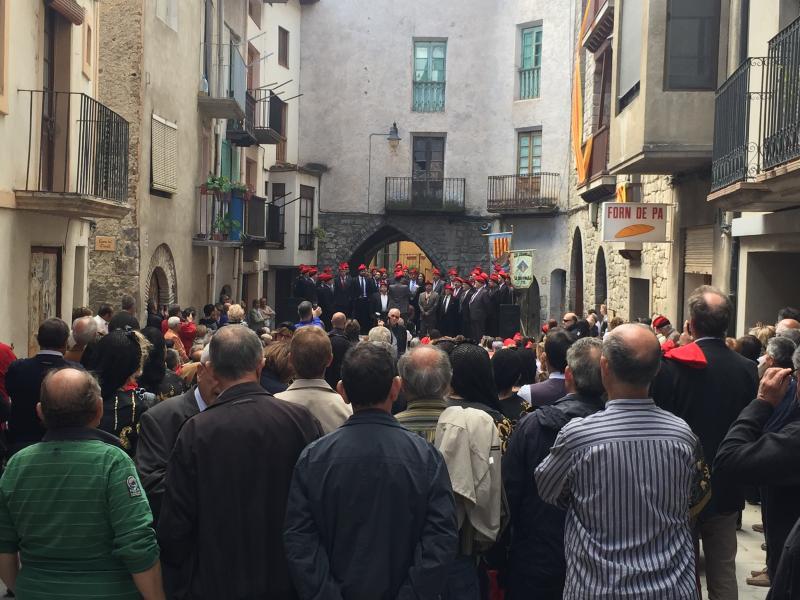 Traditional Catalan celebration in Organya (March/April)