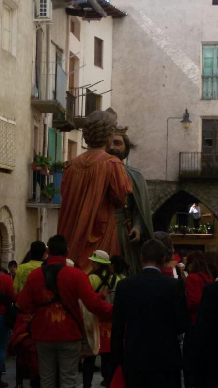 The Giants of Lleida, Spain in Organya (March/April)