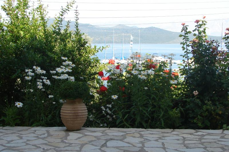 The view just from Villa Galanos!