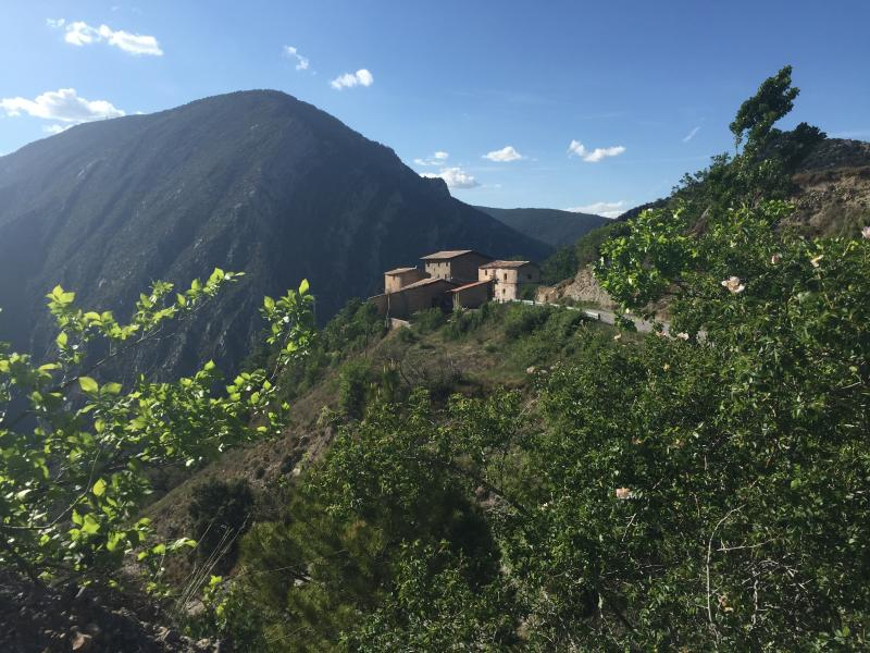 The hamlet of Voloriu just 2.5km away