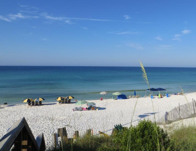 Schöne Blue Mountain Beach