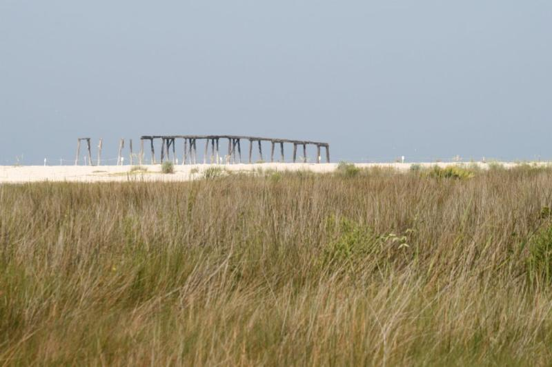 Old Pier in Phillips Inlet