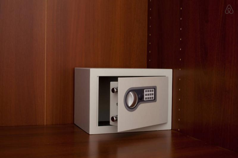 Electronic Safety Deposit Box in every room