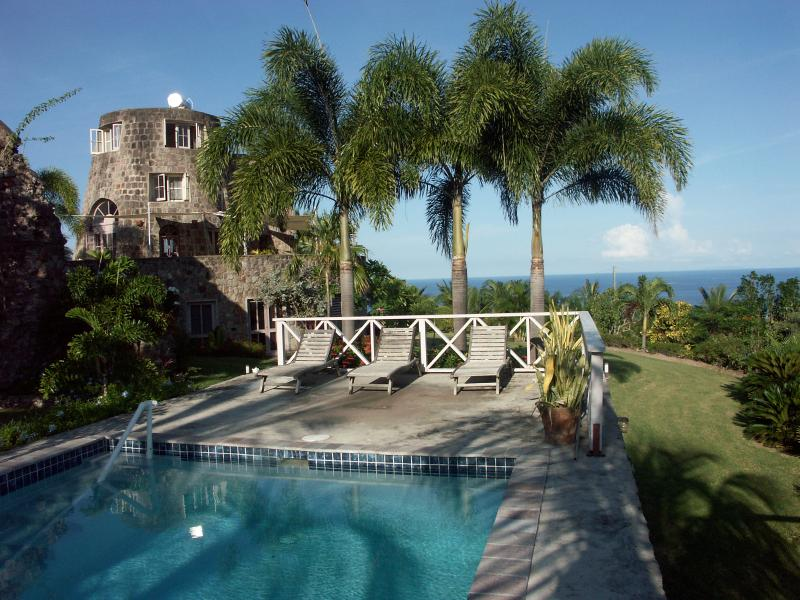Historic Vervain Mill on Nevis, vacation rental in Nevis