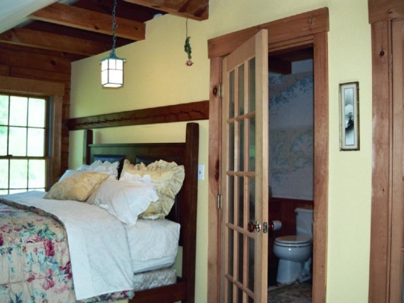 Loft Bedroom and Bathroom Between two Lofts
