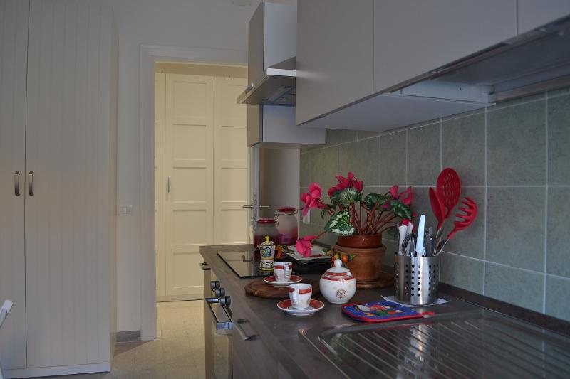 Crockery in the kitchen
