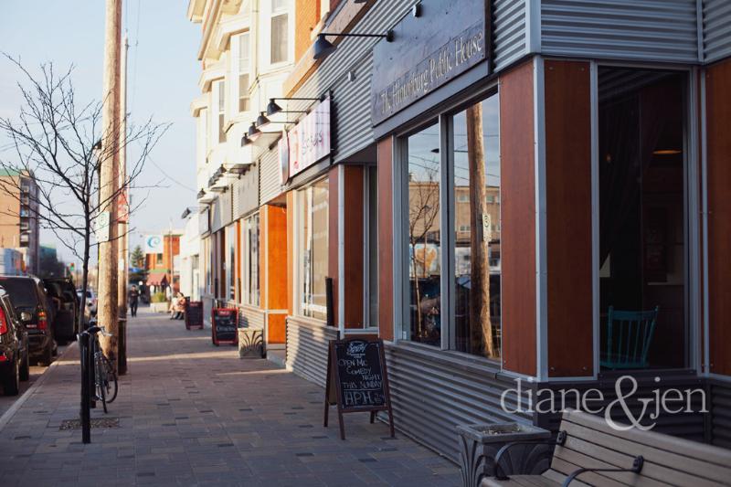 4 min walk: Shops, cafes and restaurants of Hintonburg