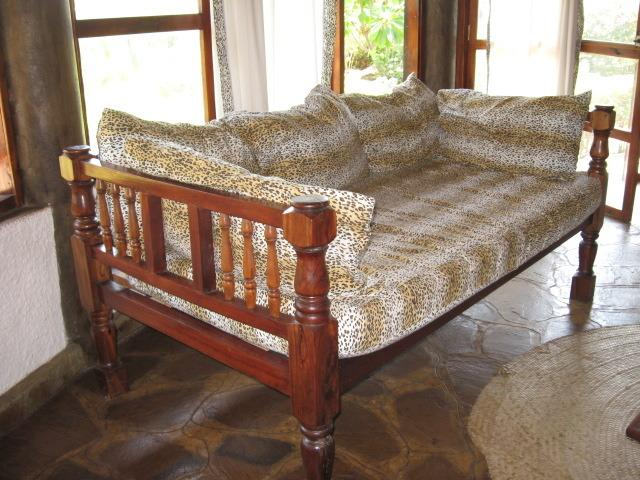 sofa' del living room.