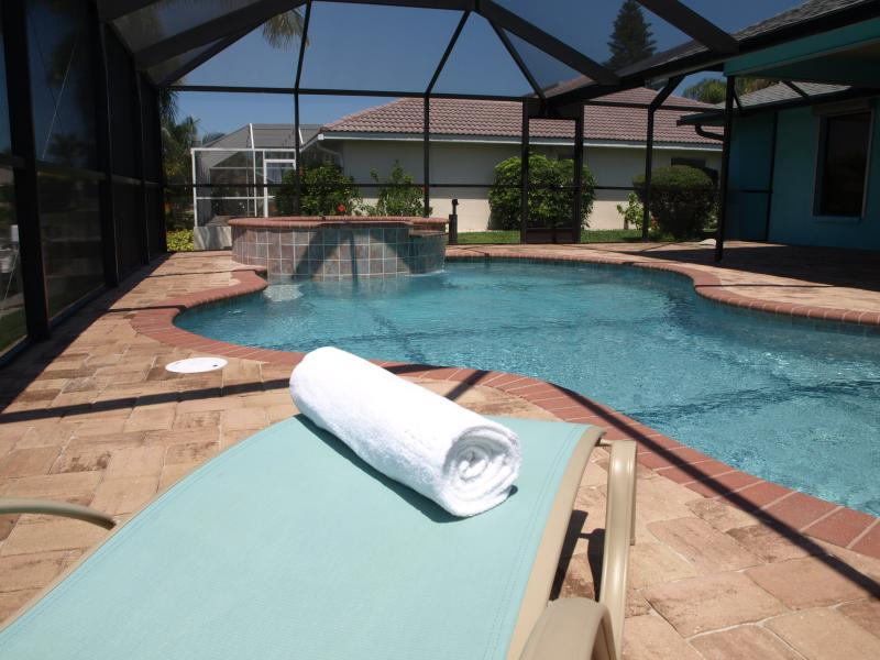 Villa Caribbean Palm Poolchaise