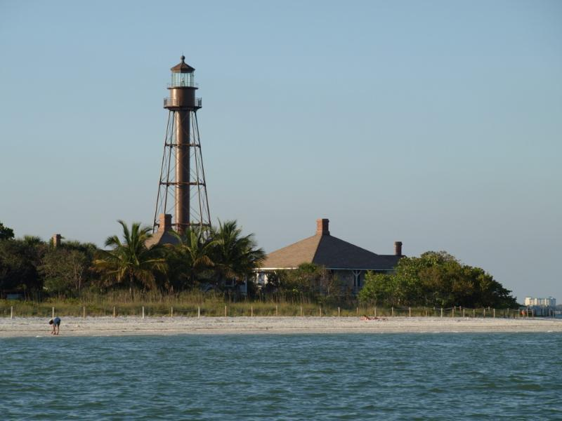 Villa Caribbean Palm Sanibel Lighthouse