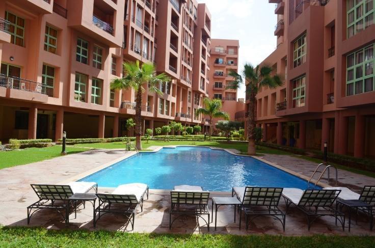 piscine de la résidence Mirador de Majorelle