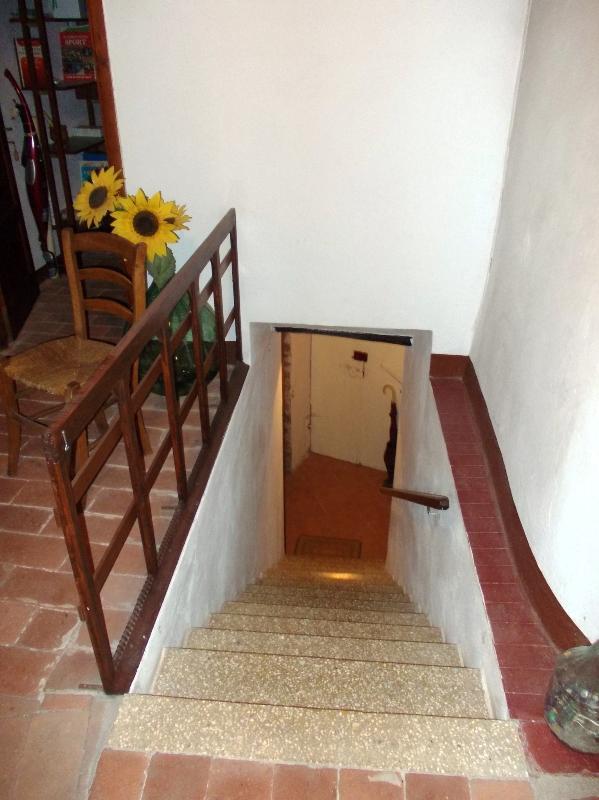 Scale ingresso visto dal primo piano