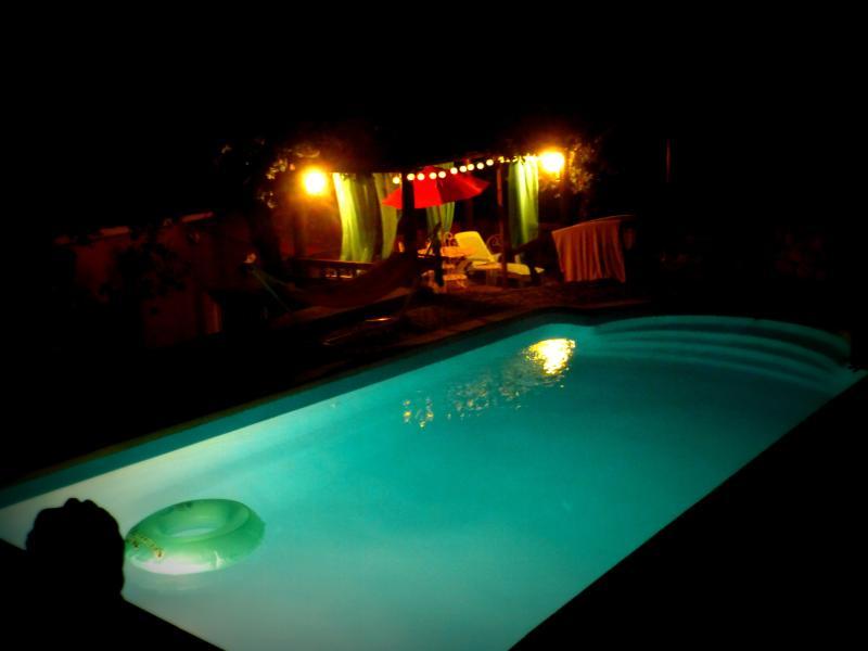Piscine de Nuit    à Dions