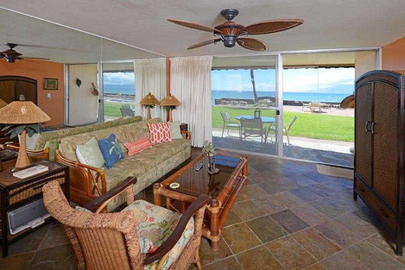 Oceanfront really means oceanfront!