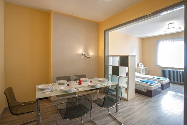Second room - dinning + sleeping area