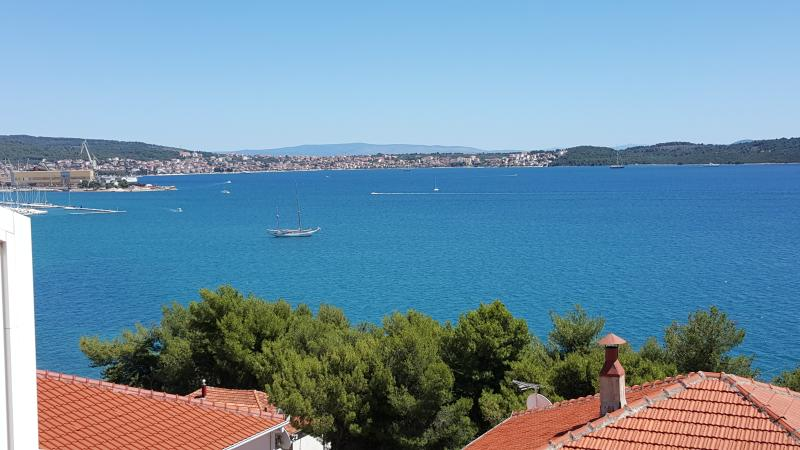 view from apartment Trogir bay