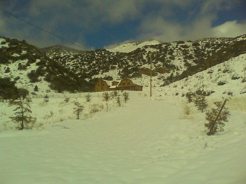 Snow at the Ranch