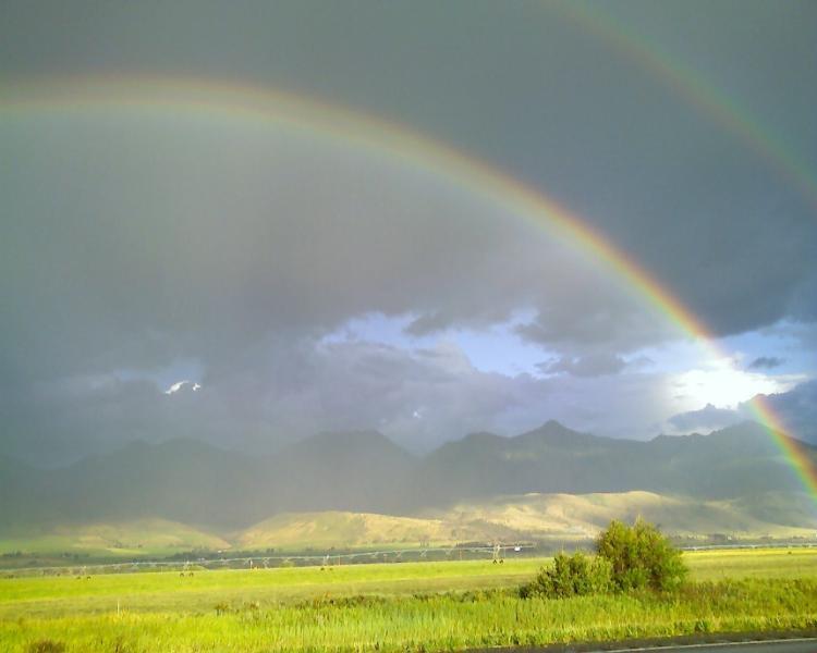 Paradise valley Rainbow July 2015