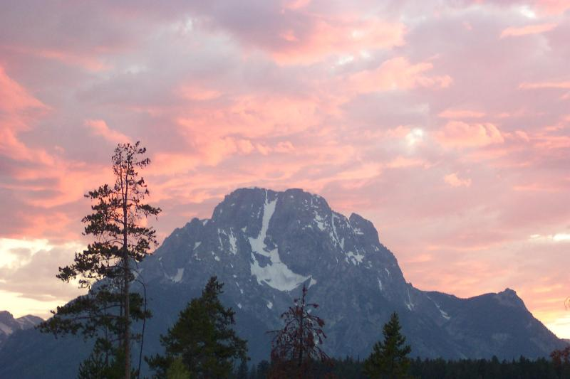 Mt Moran, G. T. Nat'l Park