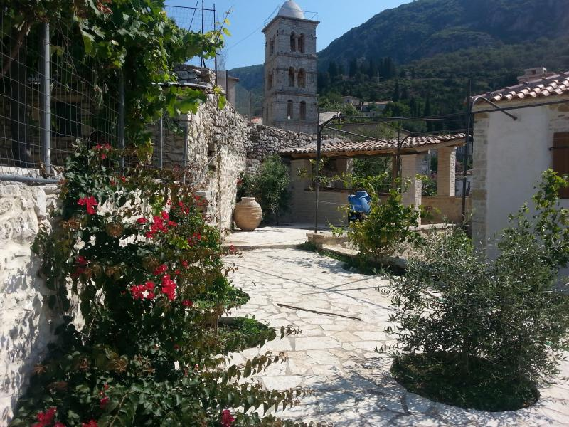 Old Qeparo Villa for rent in Albania, holiday rental in Vlore