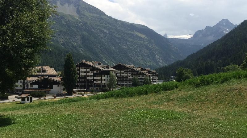 La Thuile La Thuile-view summer view