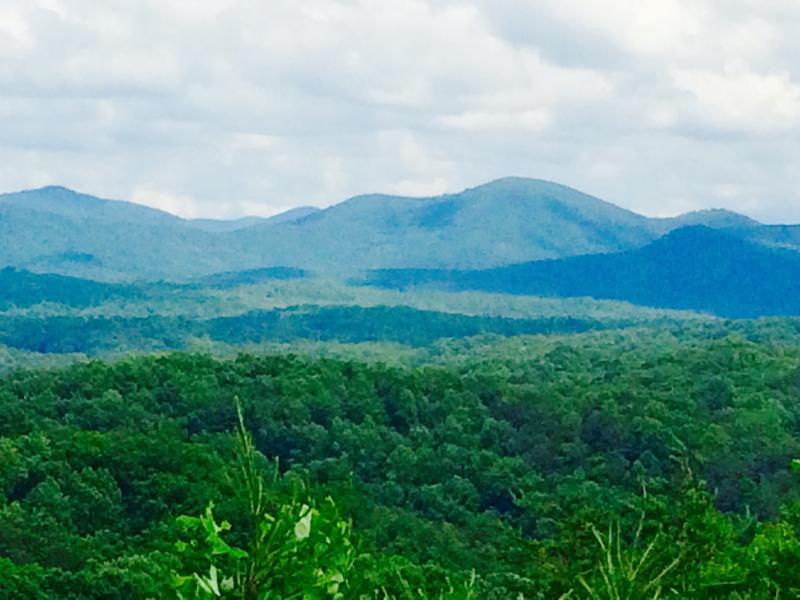 Mountain View Back Deck