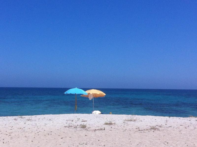 Trilocale con affaccio sul porto turistico, vacation rental in La Caletta
