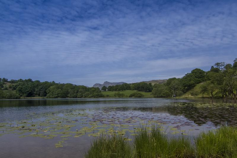 Loughrigg Tarn is a short walk from the house