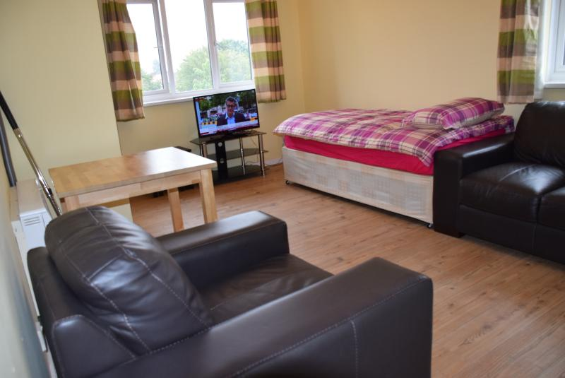 Large 1 Bed apartment  London  sleeps 4, vacation rental in Loughton