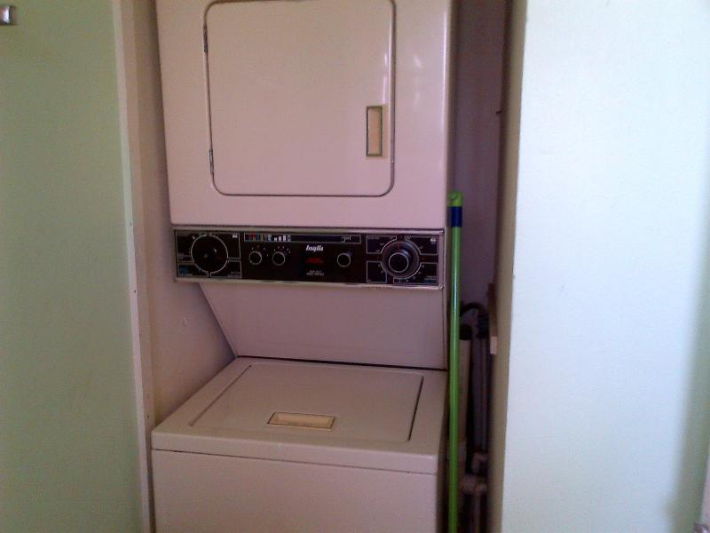 The washer/dryer