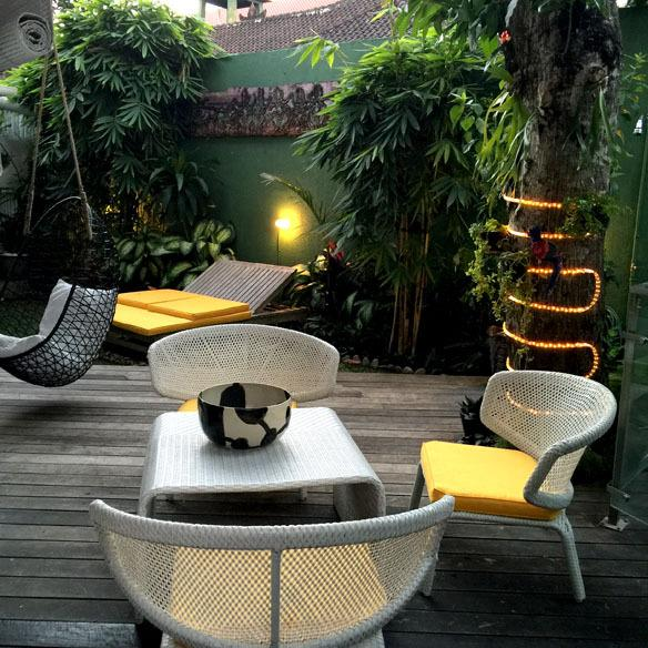 Enjoy the ambience in the evening