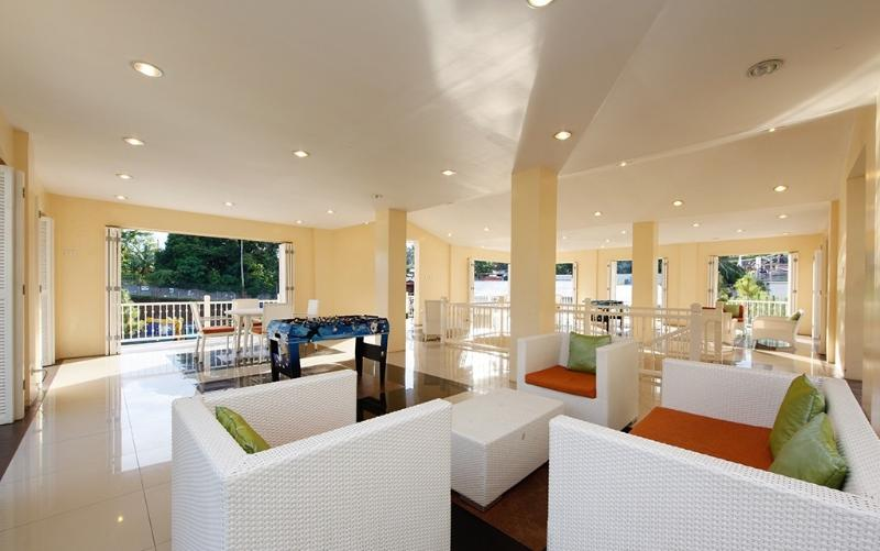 Multifunction Hall includes fitness gym, wellness pool, cafe