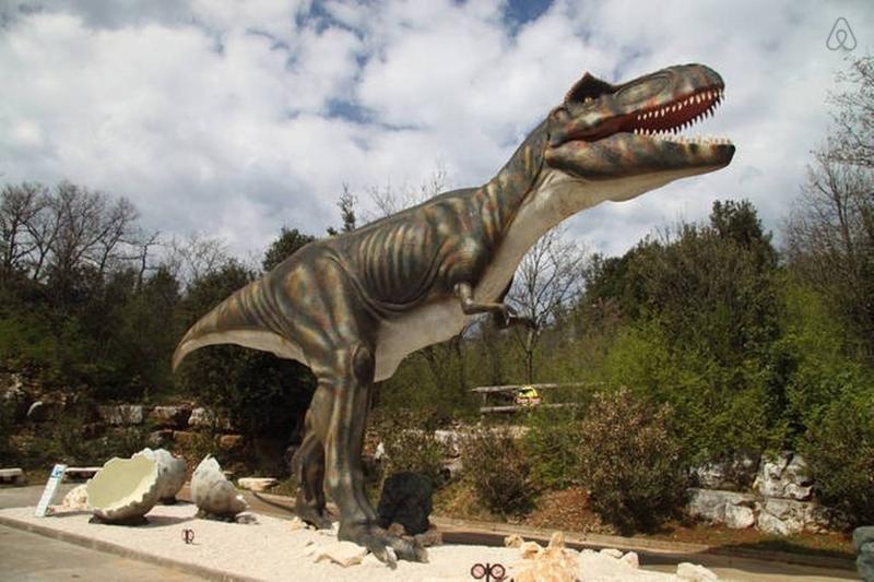 Dino park, Funtana, 40 min. drive.