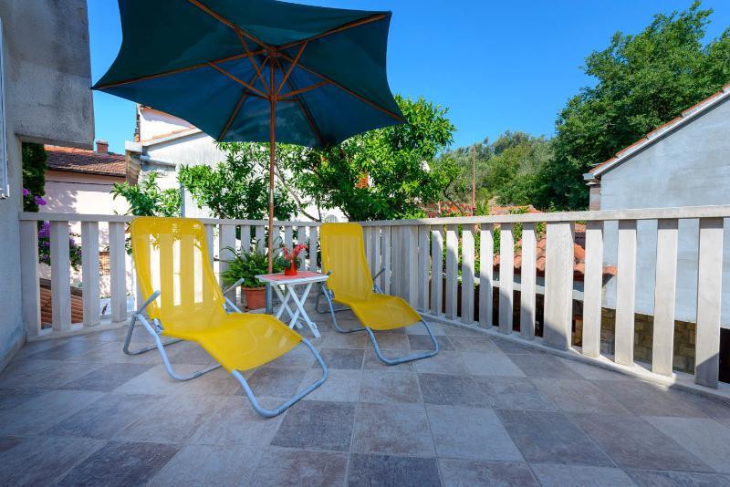 open terrace sunshine area