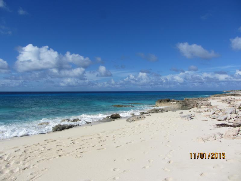 Playa Sur, lado oeste.