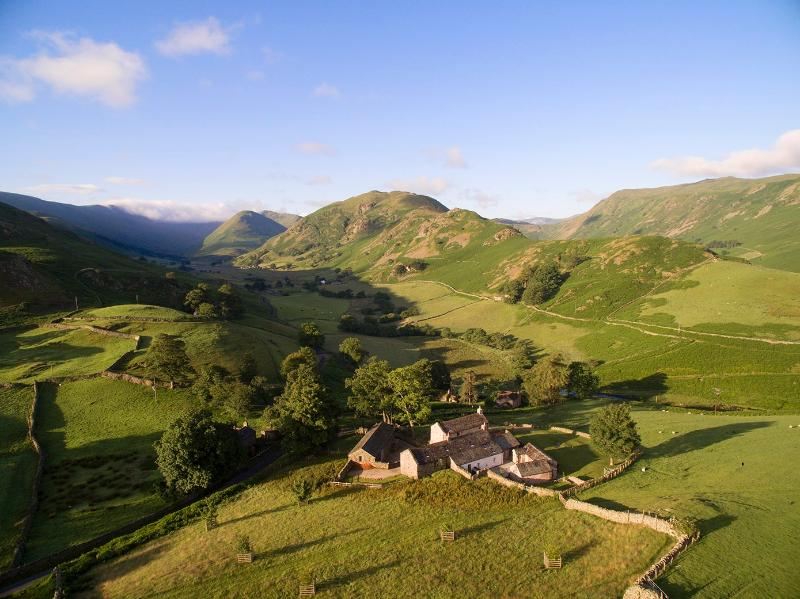 Hause Hall is in the middle of the Lake District National Park and a short walk from Ullswater lake