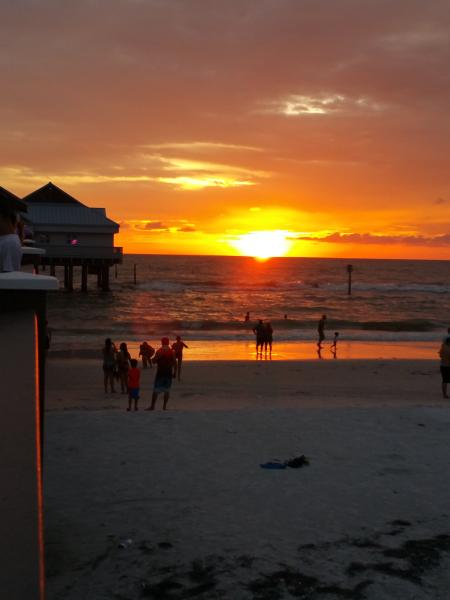 Sunset - Clearwater Beach.